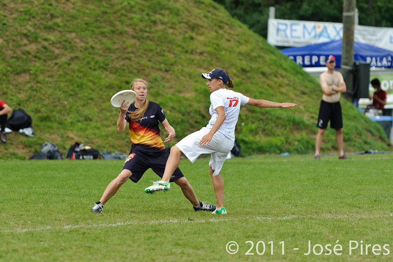 EUC2011, Maribor Slovenia.<br /> Germany vs Russia. Quarter-final. Mixed Division<br /> PhotoId :2011-08-04-0210