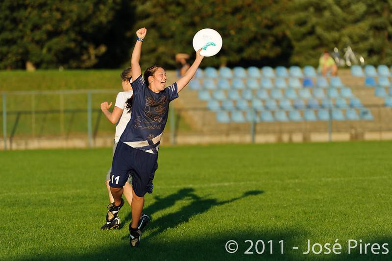 EUC2011, Maribor Slovenia.<br /> Austria vs Finland. Mixed Division.<br /> PhotoID : 2011-08-02-1235