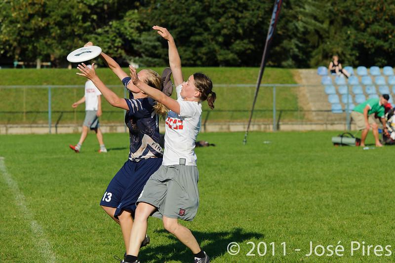 EUC2011, Maribor Slovenia.<br /> Austria vs Finland. Mixed Division.<br /> PhotoID : 2011-08-02-0998