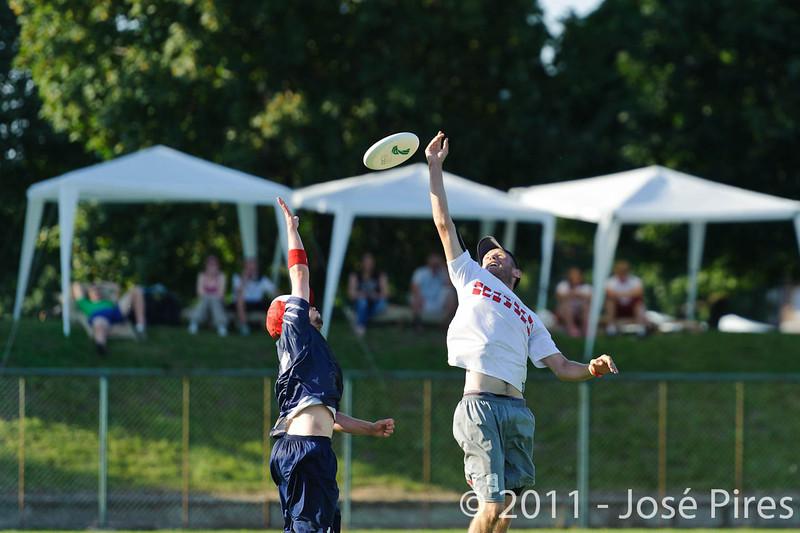 EUC2011, Maribor Slovenia.<br /> Austria vs Finland. Mixed Division.<br /> PhotoID : 2011-08-02-1035