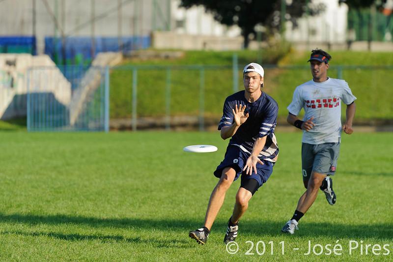 EUC2011, Maribor Slovenia.<br /> Austria vs Finland. Mixed Division.<br /> PhotoID : 2011-08-02-1088