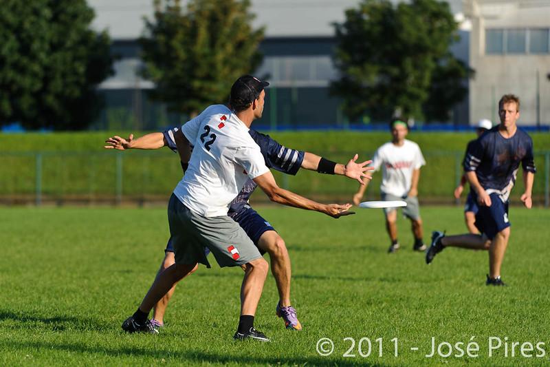 EUC2011, Maribor Slovenia.<br /> Austria vs Finland. Mixed Division.<br /> PhotoID : 2011-08-02-1138