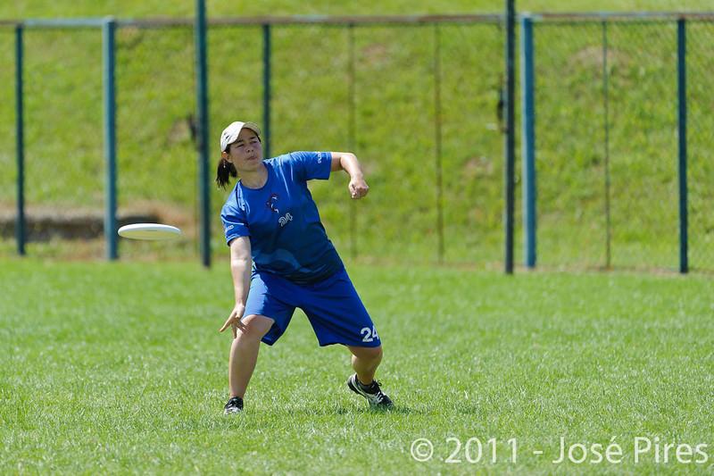 EUC2011, Maribor Slovenia.<br /> Russia vs Great Britain. Mixed Division.<br /> PhotoID : 2011-08-02-0463