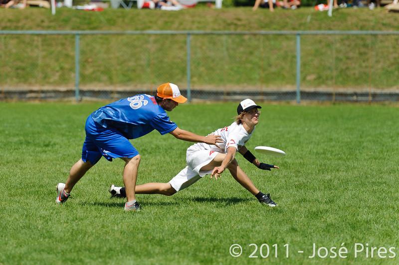 EUC2011, Maribor Slovenia.<br /> Russia vs Great Britain. Mixed Division.<br /> PhotoID : 2011-08-02-0407
