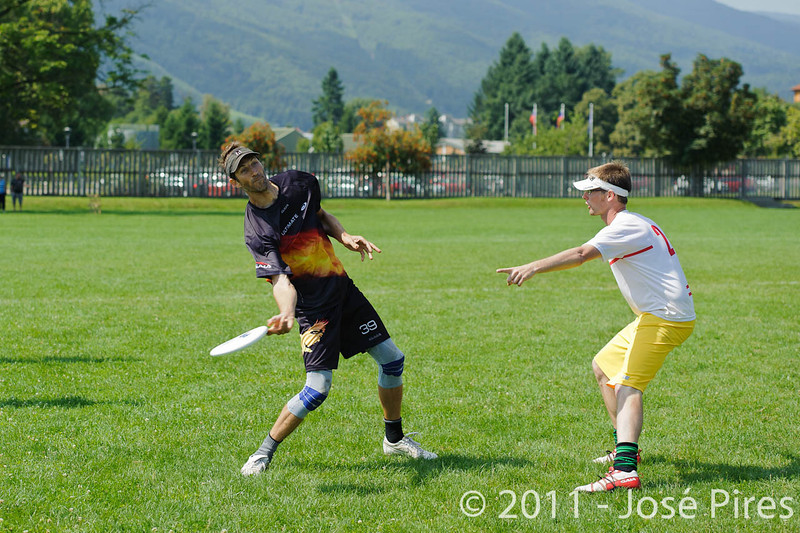 EUC2011, Maribor Slovenia.<br /> Germany vs Belgium. Mixed Division<br /> PhotoId :2011-08-03-0087