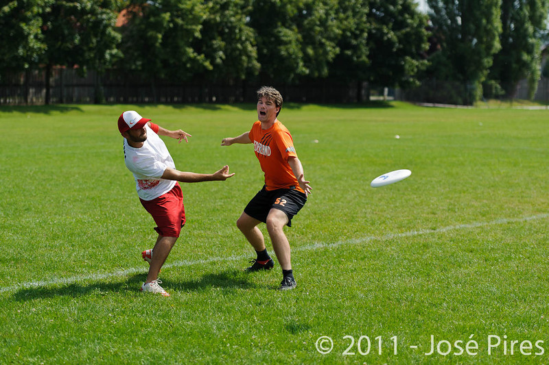 EUC2011, Maribor Slovenia.<br /> Netherlands vs Poland. Mixed Division<br /> PhotoId :2011-08-03-0098