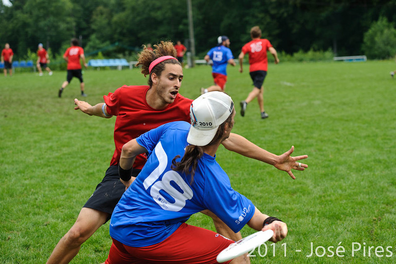 EUC2011, Maribor Slovenia.<br /> France vs Switzerland. Open Division.<br /> PhotoID : 2011-07-31-0277