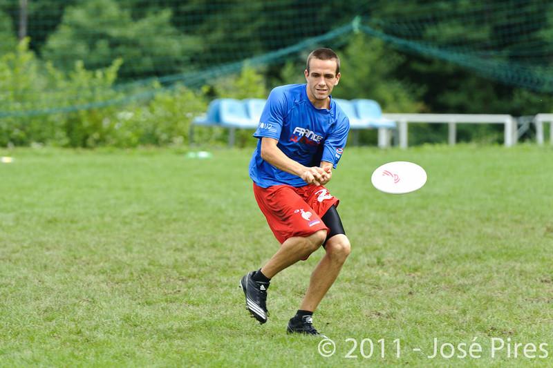 EUC2011, Maribor Slovenia.<br /> France vs Switzerland. Open Division.<br /> PhotoID : 2011-07-31-0269