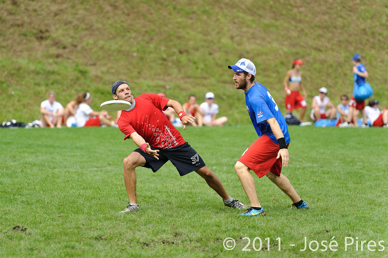 EUC2011, Maribor Slovenia.<br /> France vs Switzerland. Open Division.<br /> PhotoID : 2011-07-31-0311