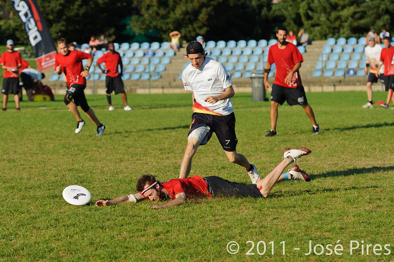 EUC2011, Maribor Slovenia.<br /> Switzerland vs Germany. 3rd Place. Open Division<br /> PhotoId :2011-08-05-0705