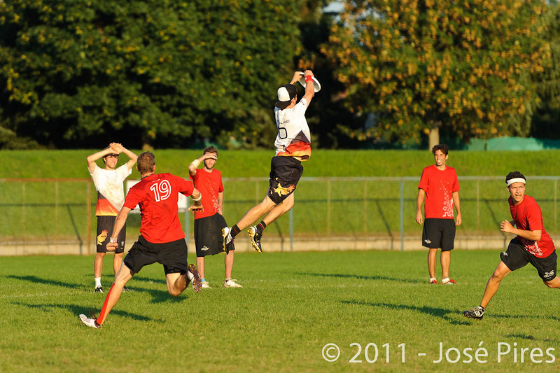 EUC2011, Maribor Slovenia.<br /> Switzerland vs Germany. 3rd Place. Open Division<br /> PhotoId :2011-08-05-0778