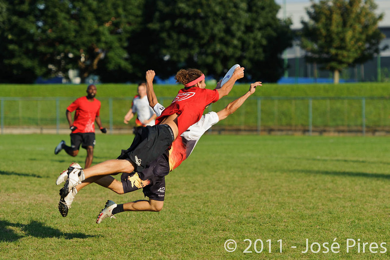 EUC2011, Maribor Slovenia.<br /> Switzerland vs Germany. 3rd Place. Open Division<br /> PhotoId :2011-08-05-0670