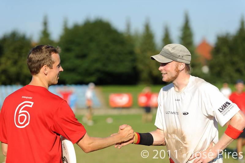 EUC2011, Maribor Slovenia.<br /> Switzerland vs Germany. 3rd Place. Open Division<br /> PhotoId :2011-08-05-0655