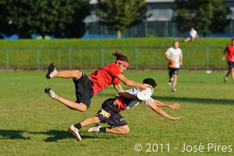 EUC2011, Maribor Slovenia.<br /> Switzerland vs Germany. 3rd Place. Open Division<br /> PhotoId :2011-08-05-0672