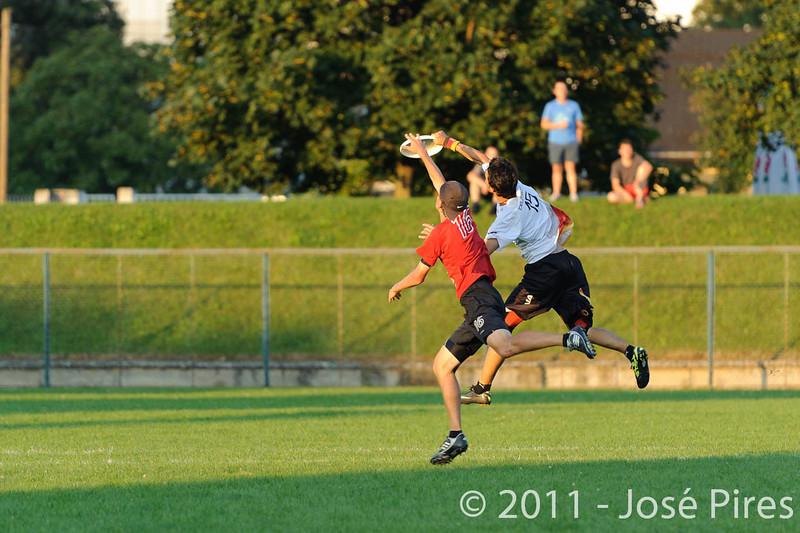 EUC2011, Maribor Slovenia.<br /> Switzerland vs Germany. 3rd Place. Open Division<br /> PhotoId :2011-08-05-0845
