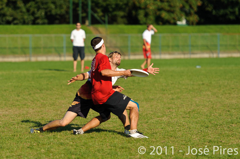 EUC2011, Maribor Slovenia.<br /> Switzerland vs Germany. 3rd Place. Open Division<br /> PhotoId :2011-08-05-0644