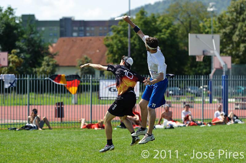 EUC2011, Maribor Slovenia.<br /> Germany vs Great Britain. Semi-final. Open Division<br /> PhotoId :2011-08-05-0067