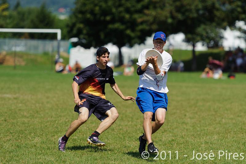 EUC2011, Maribor Slovenia.<br /> Germany vs Great Britain. Semi-final. Open Division<br /> PhotoId :2011-08-05-0016