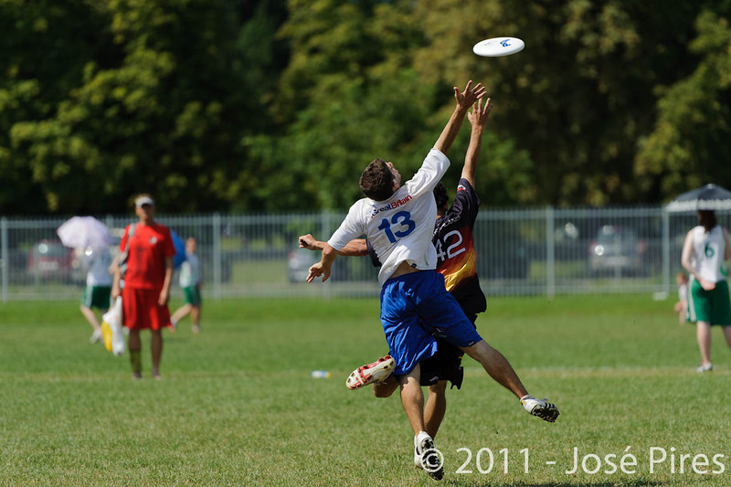 EUC2011, Maribor Slovenia.<br /> Germany vs Great Britain. Semi-final. Open Division<br /> PhotoId :2011-08-05-0007