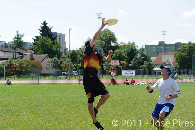 EUC2011, Maribor Slovenia.<br /> Germany vs Great Britain. Semi-final. Open Division<br /> PhotoId :2011-08-05-0114