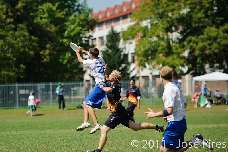EUC2011, Maribor Slovenia.<br /> Germany vs Great Britain. Semi-final. Open Division<br /> PhotoId :2011-08-05-0065