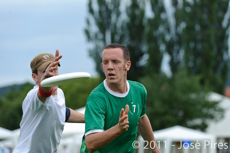 EUC2011, Maribor Slovenia.<br /> Ireland vs Great Britain. Open Division.<br /> PhotoID : 2011-07-31-0743
