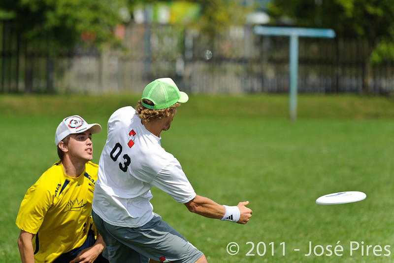 EUC2011, Maribor Slovenia.<br /> Austria vs Sweden. Open Division.<br /> PhotoID : 2011-08-01-0350