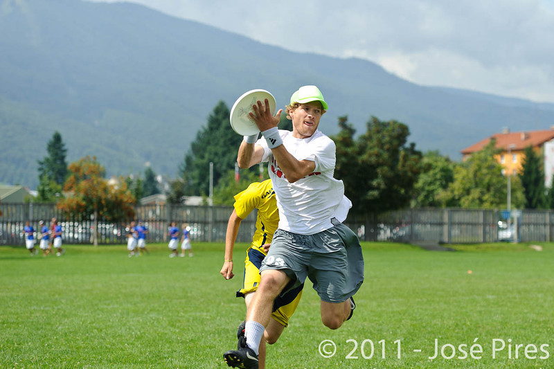 EUC2011, Maribor Slovenia.<br /> Austria vs Sweden. Open Division.<br /> PhotoID : 2011-08-01-0342