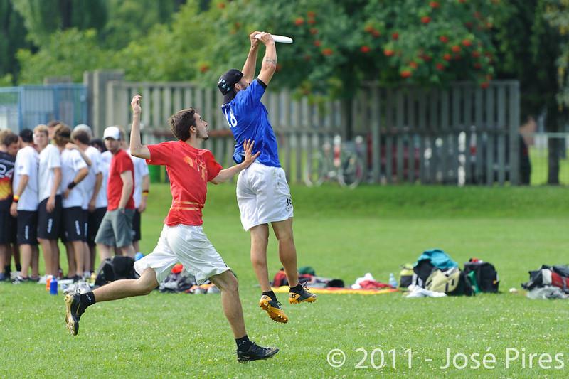 EUC2011, Maribor Slovenia.<br /> Italy vs Belgium. Open Division.<br /> PhotoID : 2011-08-01-0105