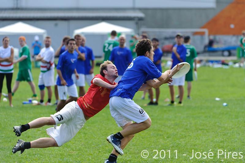 EUC2011, Maribor Slovenia.<br /> ITaly vs Belgium. Open Division.<br /> PhotoID : 2011-08-01-0122