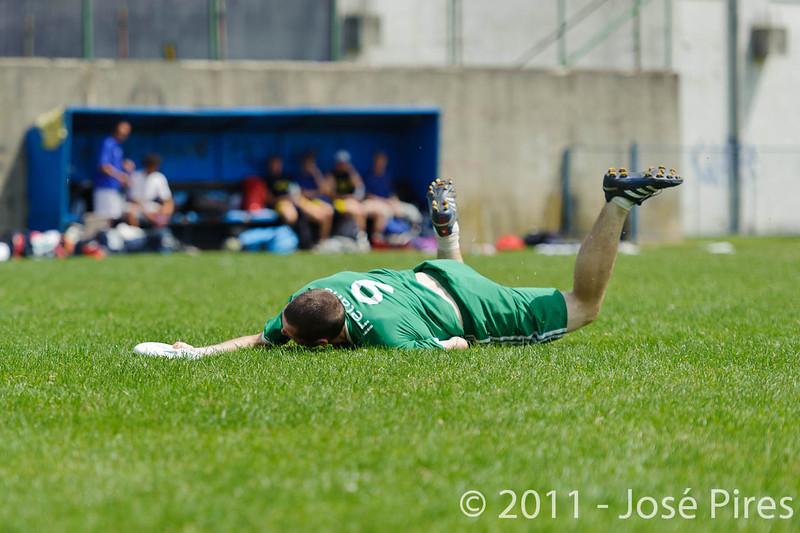 EUC2011, Maribor Slovenia.<br /> Italy vs Ireland. Open Division.<br /> PhotoID : 2011-08-01-0544