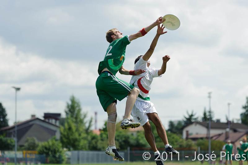 EUC2011, Maribor Slovenia.<br /> Italy vs Ireland. Open Division.<br /> PhotoID : 2011-08-01-0548