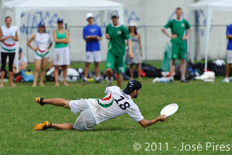 EUC2011, Maribor Slovenia.<br /> Italy vs Ireland. Open Division.<br /> PhotoID : 2011-08-01-0569