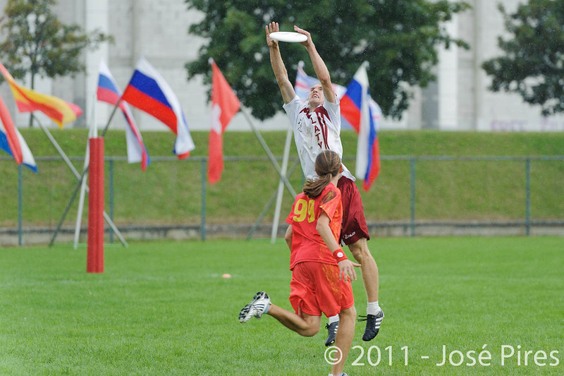 EUC2011, Maribor Slovenia.<br /> Latvia vs Spain. Open Division.<br /> PhotoID : 2011-08-01-0767