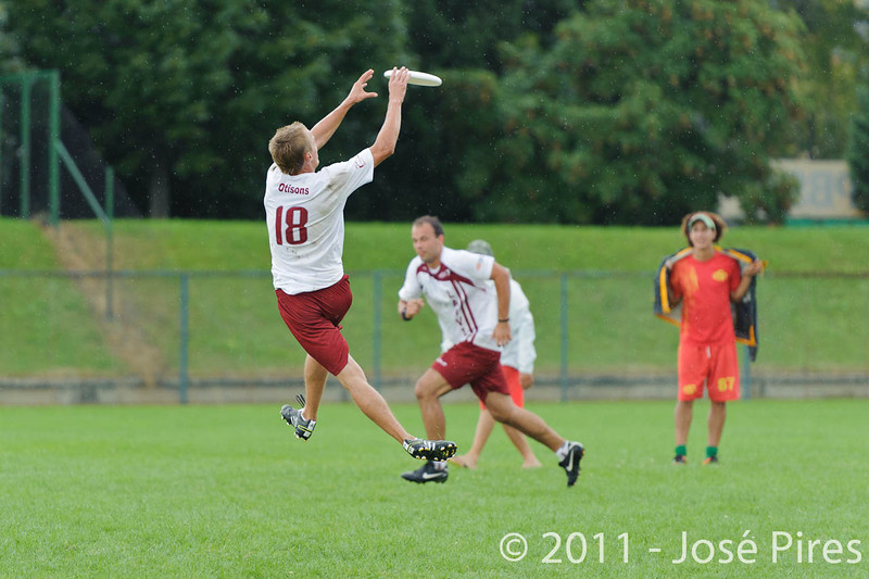 EUC2011, Maribor Slovenia.<br /> Latvia vs Spain. Open Division.<br /> PhotoID : 2011-08-01-0795