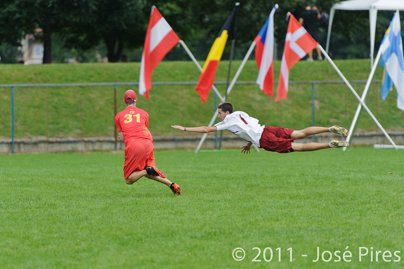 EUC2011, Maribor Slovenia.<br /> Latvia vs Spain. Open Division.<br /> PhotoID : 2011-08-01-0752