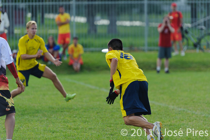 EUC2011, Maribor Slovenia.<br /> Sweden vs Germany. Open Division.<br /> PhotoID : 2011-08-01-0901