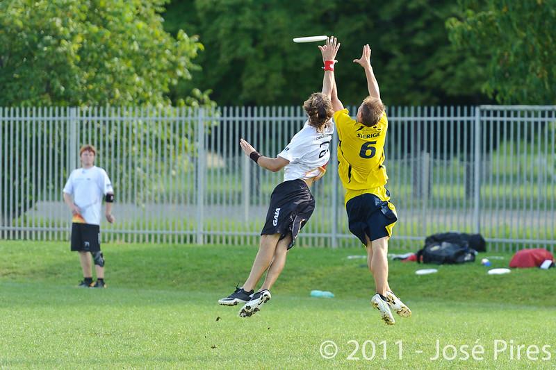 EUC2011, Maribor Slovenia.<br /> Sweden vs Germany. Open Division.<br /> PhotoID : 2011-08-01-0927