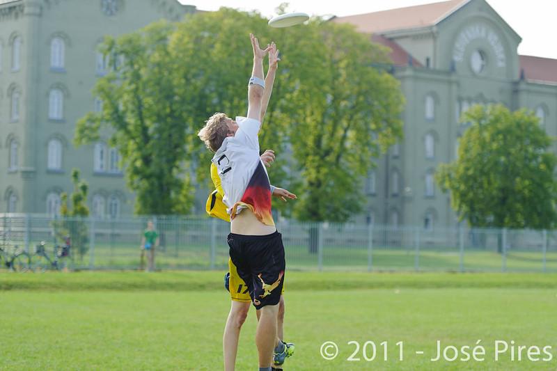 EUC2011, Maribor Slovenia.<br /> Sweden vs Germany. Open Division.<br /> PhotoID : 2011-08-01-0932