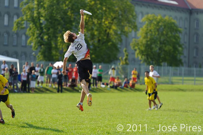 EUC2011, Maribor Slovenia.<br /> Sweden vs Germany. Open Division.<br /> PhotoID : 2011-08-01-0971
