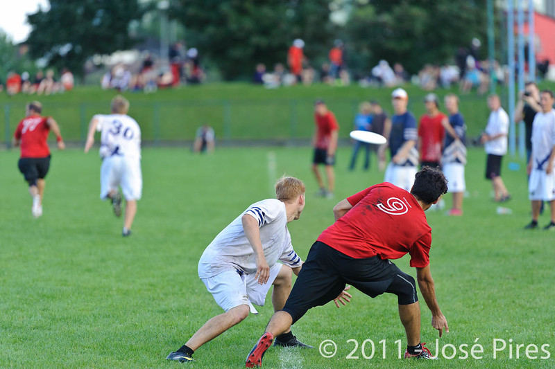 EUC2011, Maribor Slovenia.<br /> Switzerland vs Finland. Open Division.<br /> PhotoID : 2011-08-01-1191