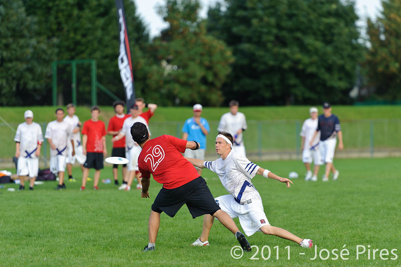 EUC2011, Maribor Slovenia.<br /> Switzerland vs Finland. Open Division.<br /> PhotoID : 2011-08-01-1155