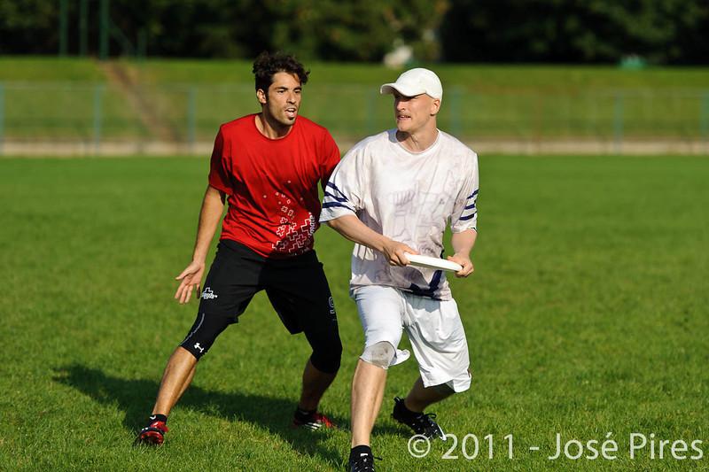 EUC2011, Maribor Slovenia.<br /> Switzerland vs Finland. Open Division.<br /> PhotoID : 2011-08-01-1001