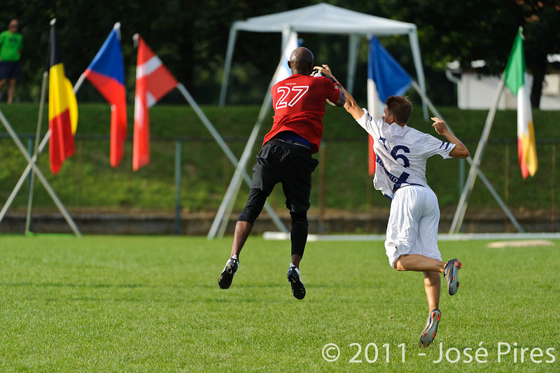 EUC2011, Maribor Slovenia.<br /> Switzerland vs Finland. Open Division.<br /> PhotoID : 2011-08-01-1077