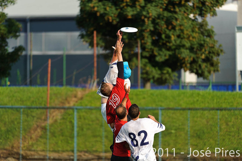 EUC2011, Maribor Slovenia.<br /> Switzerland vs Finland. Open Division.<br /> PhotoID : 2011-08-01-1114