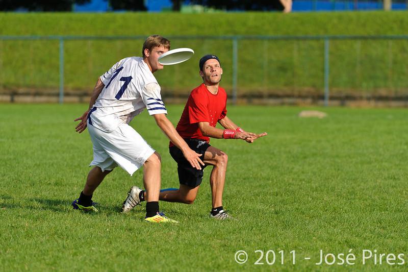 EUC2011, Maribor Slovenia.<br /> Switzerland vs Finland. Open Division.<br /> PhotoID : 2011-08-01-1043