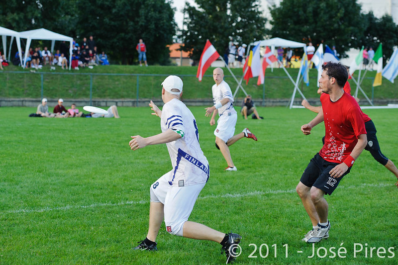 EUC2011, Maribor Slovenia.<br /> Switzerland vs Finland. Open Division.<br /> PhotoID : 2011-08-01-1241
