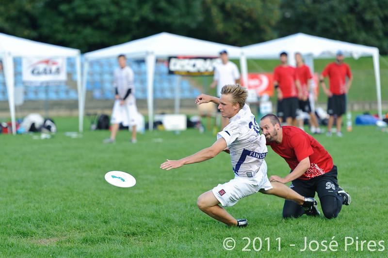 EUC2011, Maribor Slovenia.<br /> Switzerland vs Finland. Open Division.<br /> PhotoID : 2011-08-01-1194