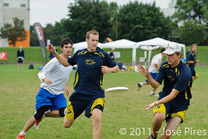 EUC2011, Maribor Slovenia.<br /> Sweden vs Great Britain. Final. Open Division<br /> PhotoId :2011-08-06-1595