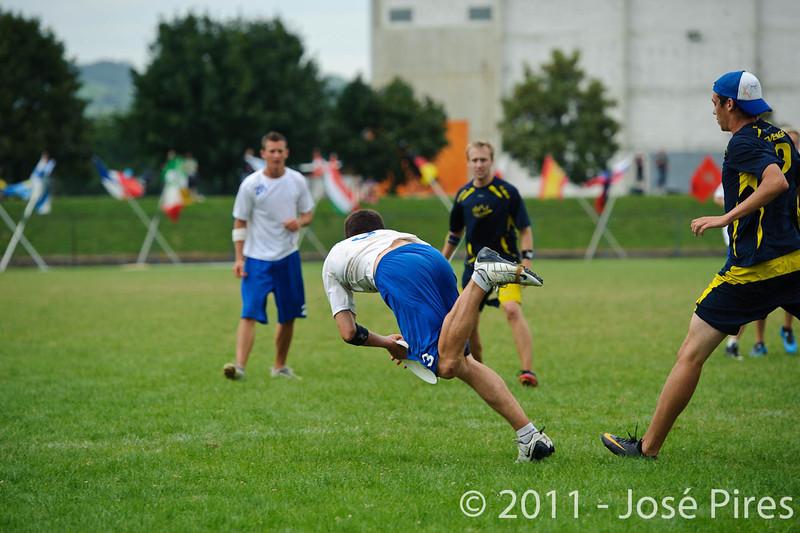 EUC2011, Maribor Slovenia.<br /> Sweden vs Great Britain. Final. Open Division<br /> PhotoId :2011-08-06-1675